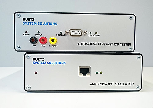 RUETZ SYSTEM SOLUTIONS provides the first compliance verification process for Ethernet ECUs