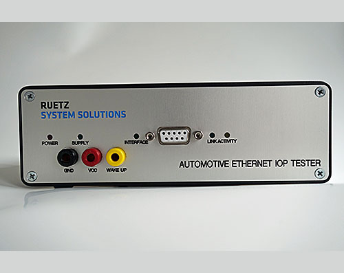 IOP tester from RUETZ SYSTEM SOLUTIONS tests ECUs for interoperability