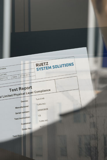 Compliance Test House: Test Report